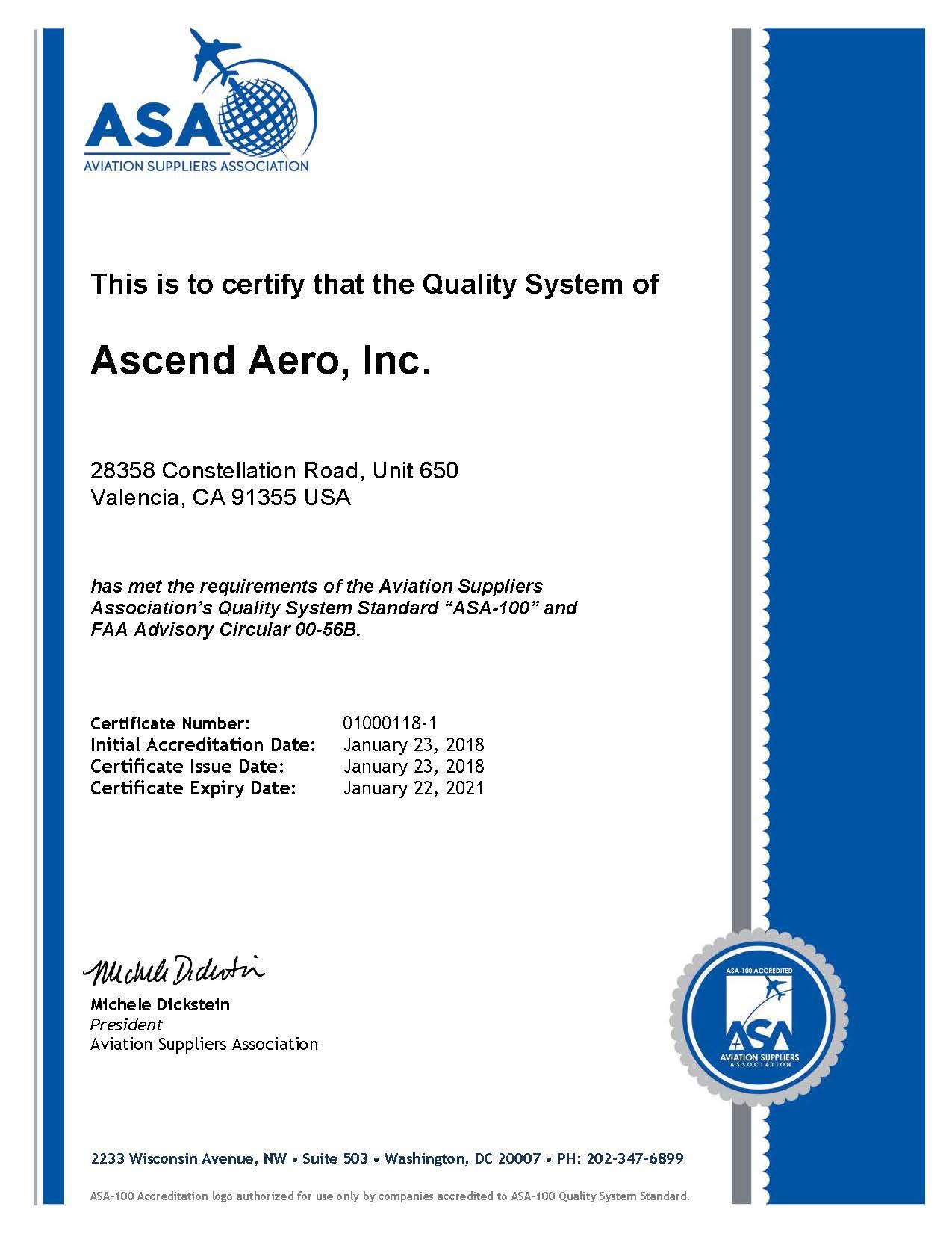 ASND Certificate rev 1